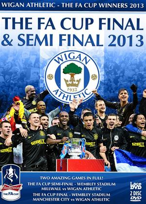 Rent FA Cup Final: 2013: Wigan Athletic 1 Manchester City 0 Online DVD Rental