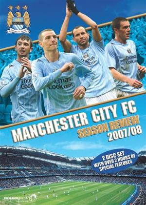 Manchester City: Season Review 2007/2008 Online DVD Rental