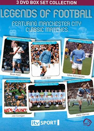 Manchester City: Legends of Football: Classic Matches Online DVD Rental