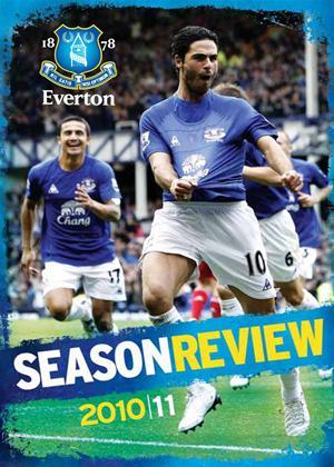 Everton FC: End of Season Review 2010/2011 Online DVD Rental