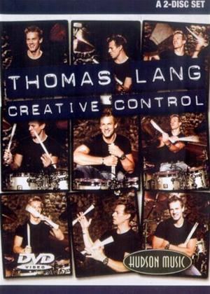 Rent Thomas Lang: Creative Control Online DVD Rental