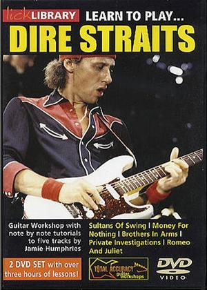 Rent Lick Library: Learn to Play Dire Straits Online DVD Rental