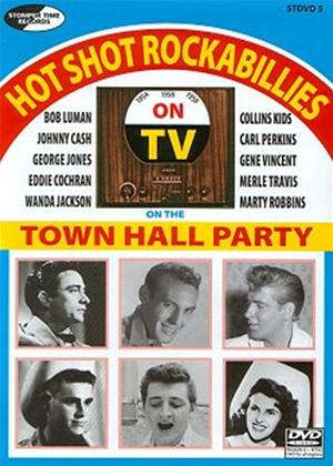 Rent Various Artists: Hot Shot Rockabillies on the Town Hall Parties Online DVD Rental