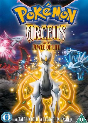 Pokemon: Arceus and the Jewel of Life Online DVD Rental