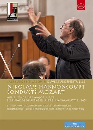 Rent Mozart: Ouverture Spirituelle (Harnoncourt) Online DVD Rental