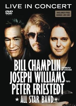 Joseph Williams, Peter Friestedt and Bill Champlin: In Concert Online DVD Rental