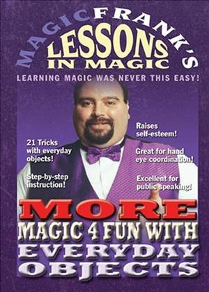 Rent Magic Frank's Lessons in Magic: Vol.4 Online DVD Rental