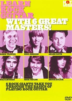Rent Hot Licks: Learn Rock Guitar with These 6 Greats Online DVD Rental