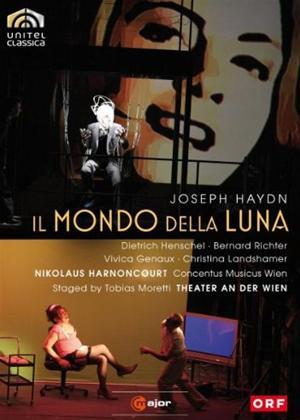 Il Mondo Della Luna: Concentus Musicus Wien Online DVD Rental