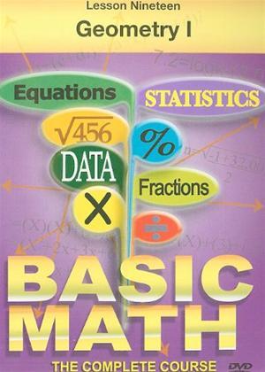 Basic Maths: Geometry 1 Online DVD Rental