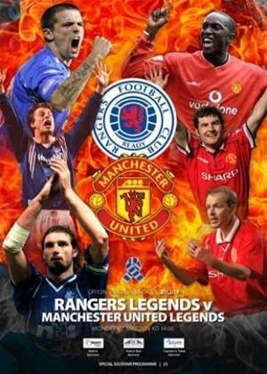 Rent Rangers FC: Rangers Legends V Man Utd Legends Online DVD Rental