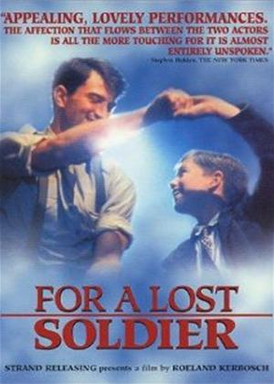 Rent For a Lost Soldier Online DVD Rental