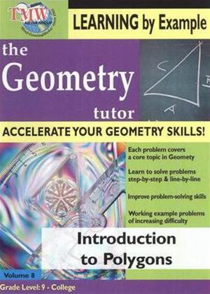 The Geometry Tutor: Introduction to Polygons Online DVD Rental