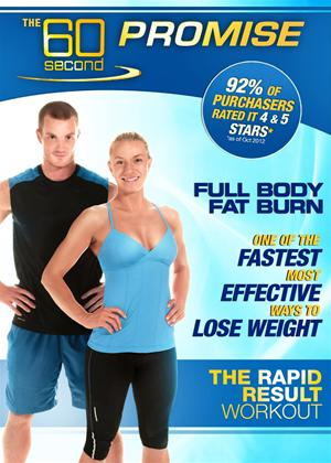 Rent 60 Second Promise: Full Body Fat Burn Online DVD Rental