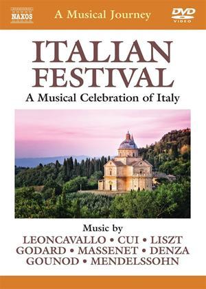 Rent A Musical Journey: Italian Festival Online DVD Rental