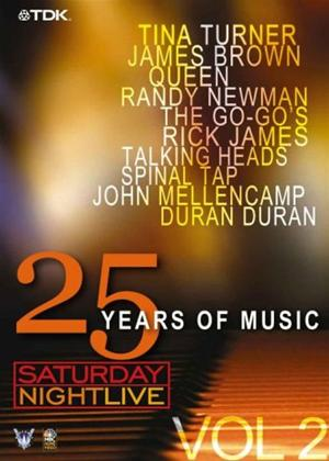 Rent Saturday Night Live: 25 Years of Music: Vol.2 Online DVD Rental