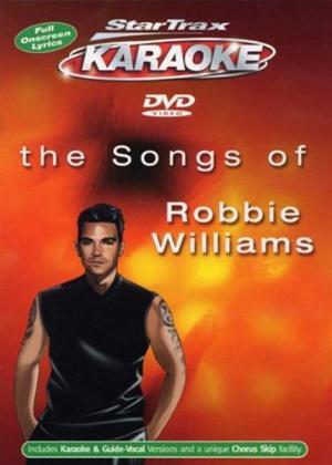 Startrax Karaoke: Robbie Williams Online DVD Rental