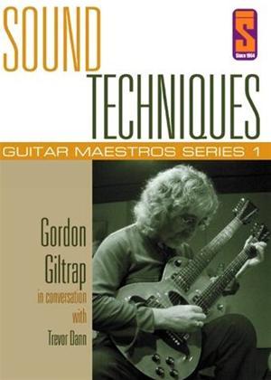 Rent Sound Techniques: Guitar Maestros Series 1: Gordon Giltrap Online DVD Rental