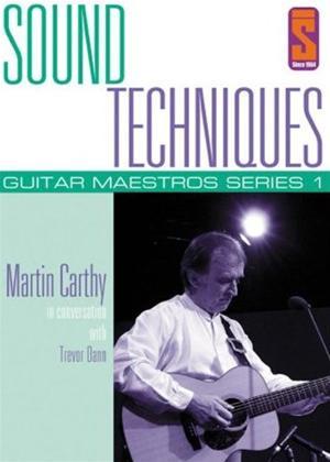 Rent Sound Techniques: Guitar Maestros Series 1: Martin Carthy Online DVD Rental