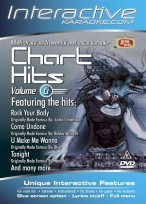 Rent Interactive Karaoke: Chart Hits: Vol.6 Online DVD Rental
