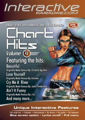 Rent Interactive Karaoke: Chart Hits: Vol.4 Online DVD Rental