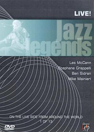 Rent Jazz Legends: Live: Vol.1 Online DVD Rental