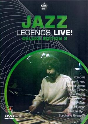 Jazz Legends Live!: Deluxe Edition 2 Online DVD Rental