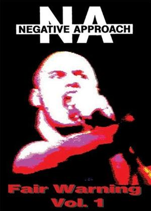 Rent Negative Approach: Fair Warning: Vol.1 Online DVD Rental