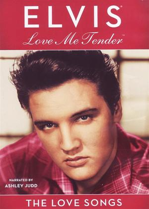 Rent Elvis Presley: Love Me Tender: The Love Songs Online DVD Rental