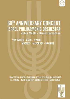 Rent Israel Philharmonic Orchestra: 60th Anniversary Concert (Mehta) Online DVD Rental