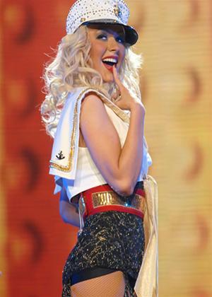 Rent Christina Aguilera in Concert Online DVD Rental
