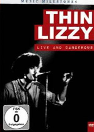 Thin Lizzy: Music Milestones: Live and Dangerous Online DVD Rental