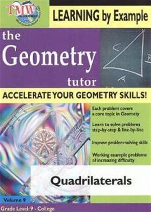 The Geometry Tutor: Quadrilaterals Online DVD Rental