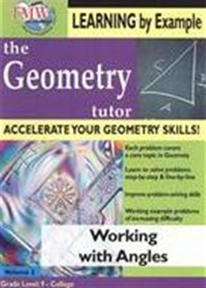 The Geometry Tutor: Working with Angles Online DVD Rental