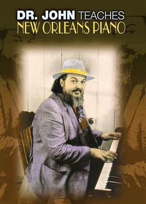 Doctor John Teaches New Orleans Piano Online DVD Rental