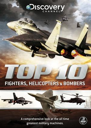 Rent The Top Ten Fighters, Bombers and Helicopters Online DVD Rental