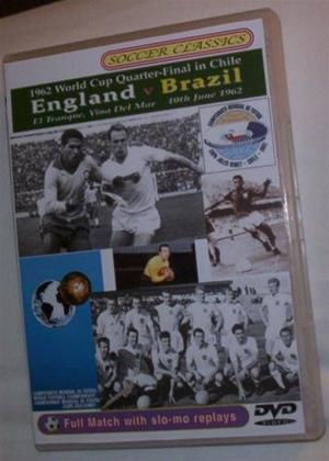 Rent 1962 World Cup Quarter Final: England Vs Brazil Online DVD Rental