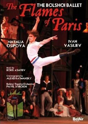 The Flames of Paris: Bolshoi Theatre Ballet Online DVD Rental