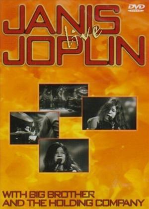 Janis Joplin: Live Online DVD Rental