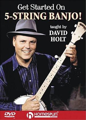 Rent David Holt: Get Started on 5 String Banjo! Online DVD Rental