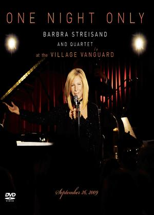Rent Barbra Streisand: One Night Only (aka One Night Only: Barbra Streisand and Quartet at the Village Vanguard) Online DVD Rental