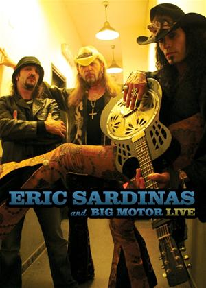 Eric Sardinas and Big Motor Live Online DVD Rental