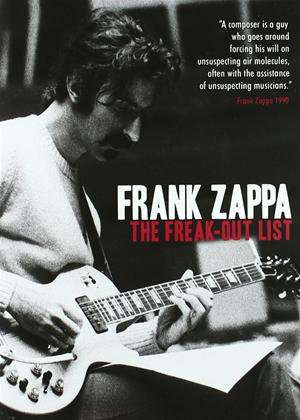 Frank Zappa: The Freak-Out List Online DVD Rental