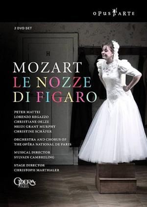 Rent Le Nozze Di Figaro: Opera National De Paris (Cambreling) Online DVD Rental