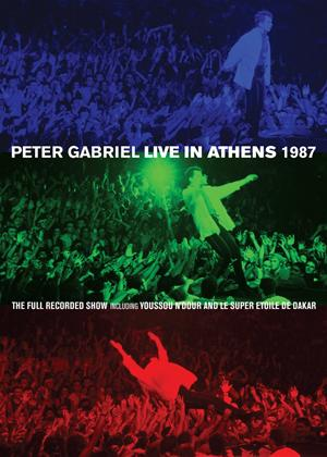 Rent Peter Gabriel: Live in Athens 1987 Online DVD Rental