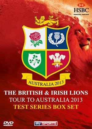 British and Irish Lions - Tour to Australia 2013: Test Series Online DVD Rental