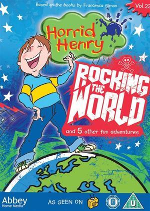 Rent Horrid Henry: Rocking the World Online DVD Rental