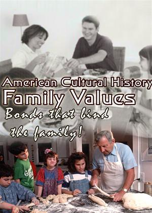 American Cultural History: Family Values Online DVD Rental