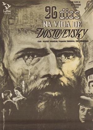 Twenty Six Days from the Life of Dostoyevsky Online DVD Rental