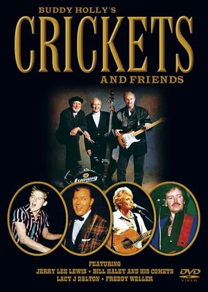 The Crickets and Friends: Live at Peterborough Online DVD Rental